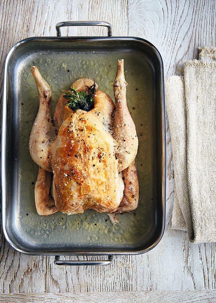 Zo maak je heerlijke gebraden kip