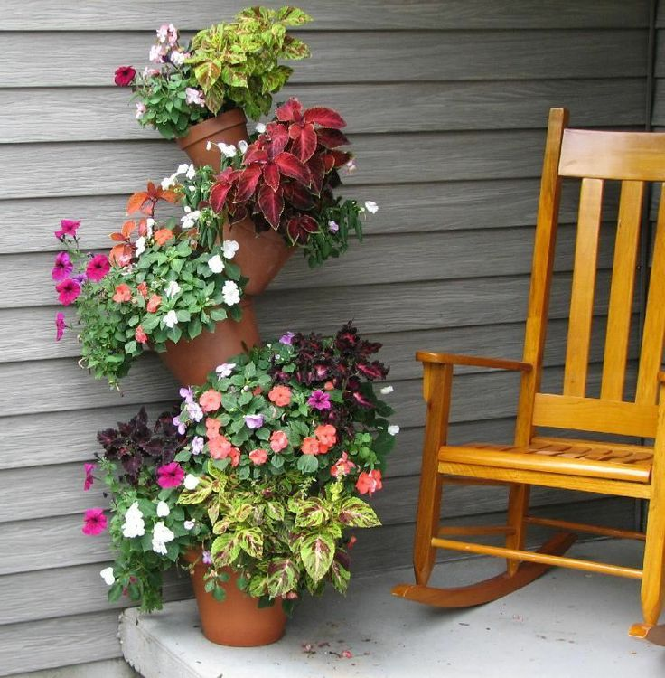 25 best ideas about flowers on porch on pinterest
