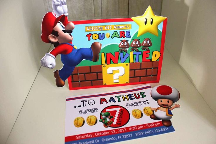 Super Mario Bros Birthday Party Ideas | Photo 50 of 53 | Catch My Party