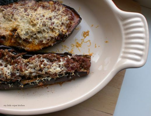 Little Expat Kitchen: The power of a vegetable Greek Stuffed Eggplants ...