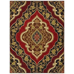 Shaw Rugs Mirabella Andora Red Rug | Wayfair