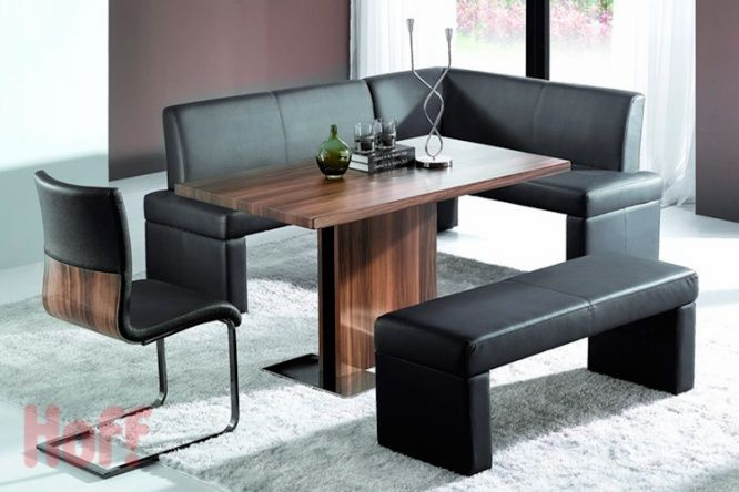 Купить Угловая скамья левосторонняя Boss с доставкой по выгодной цене в интернет магазине Hoff.ru. Характеристики, фото и отзывы.