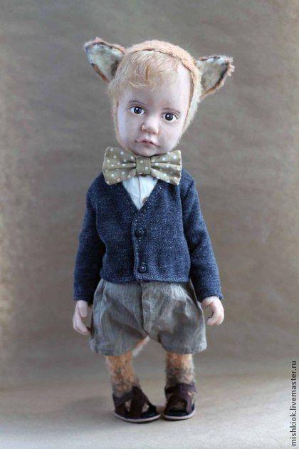 teddy-dolls Olga Kizhaeva лисенок,тедди долл