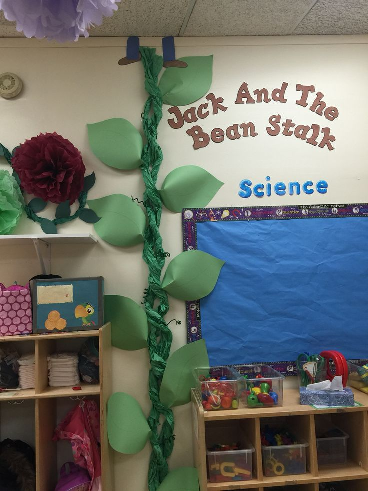 Classic tales wall display classroom (Jack and the beanstalk)