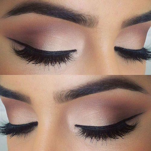 Wunderschönes, klassisches Augen Make-Up - Perfektes Augen Make-Up für die Braut.