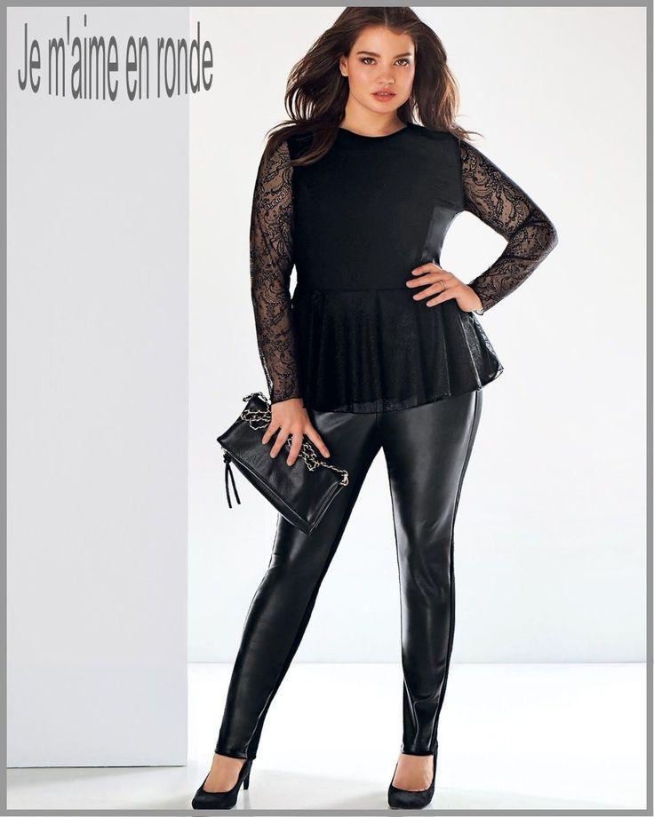 leggings taille 54 56 aspect cuir chic et rock nouvelle collection femme hiver leggings. Black Bedroom Furniture Sets. Home Design Ideas