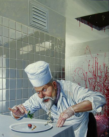 Ole Fick - Paintings