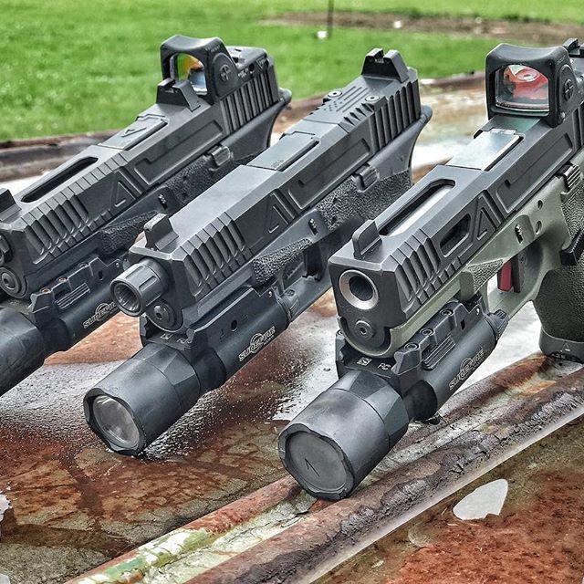 @agencyarms Glock19 TrifectaAll 3 Field,Hybrid,Urban @2a_mark_ & @nubgunner #agencyarms #agentlife #glock #glock19