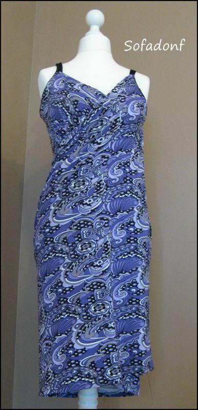Bonjour , et merci pour vos commentaires et vos visites J'ai trouvé l'idée de ce cache maillot ou robe paréo très interessante et facile à faire , c'est pour cela que je voulais la partager avec vous , ce n'est pas du tout compliqué côté couture , je...