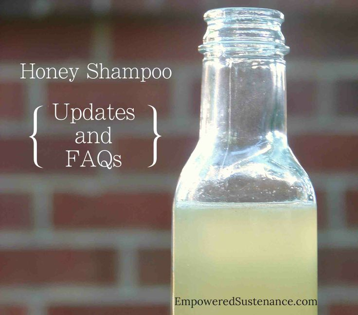 Honey Shampoo Update and FAQs. I posted my DIY Honey Shampoo in May and it has received a ton of questions and comments. It currently has about 350 comments on the post… which is more comments than on any other recipe on Empowered Sustenance! I thought it was about time to answer some questions, as well as give an update on how I've changed around my hair care routine. DIY Honey Shampoo Recipe: http://empoweredsustenance.com/diy-honey-shampoo/