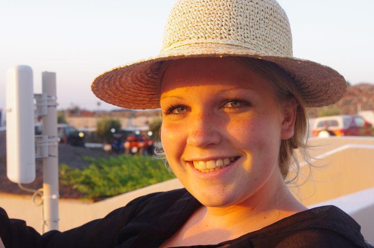 Ida in the sun