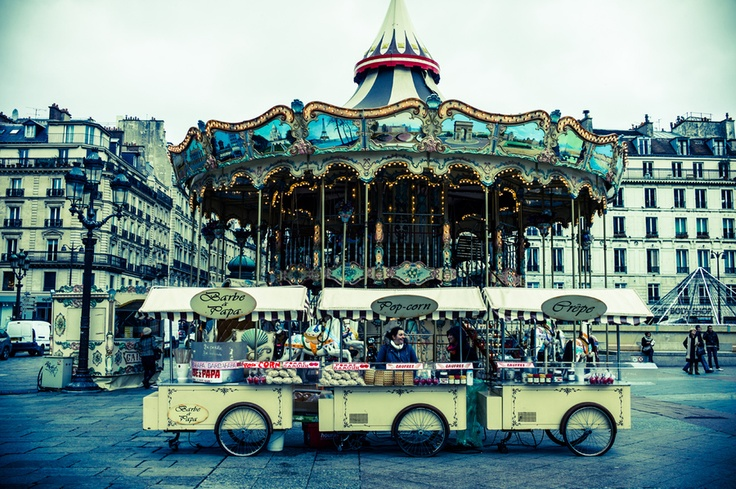 Winter Joy, Paris, France Carrousel, Winter Joy, Travel Obsession,  Merry-Go-Round, Paris France,  Roundabout, Amusement Riding, Petite Paris, My Little