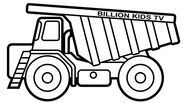 25 Inspiration Image Of Dump Truck Coloring Pages Truck