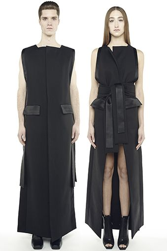 RAD HOURANI: Couture unisexe