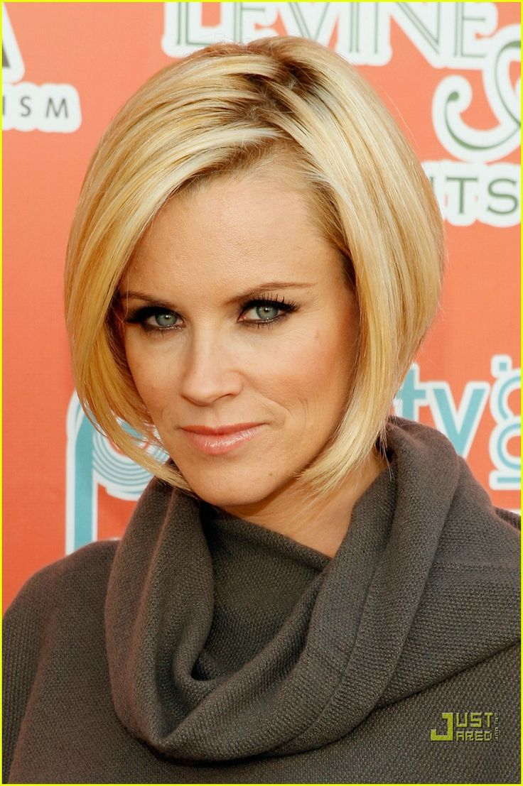 Jenny McCarthy Haircut Back View | Jenny McCarthy Gets in a Treehouse