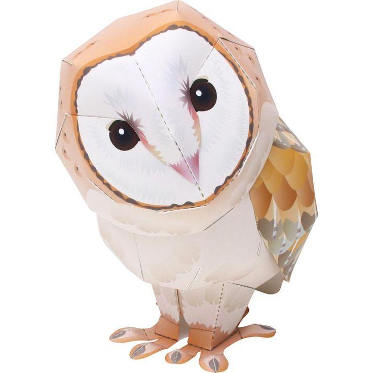 簡単無料ダウンロードで作れます!メンフクロウ✂︎✨➡️https://goo.gl/ELJxFc  傾げた表情が愛らしいメンフクロウ♪(*´ω`*) ミニサイズでお部屋の何処でも飾ってみて下さいね〜♪  #メンフクロウ #梟 #owl #ハンドメイド #クラフト #フクロウ #インテリア #パーティーグッツ #ペーパークラフト