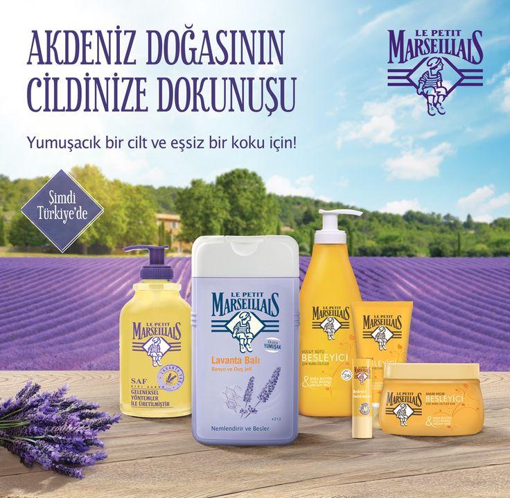 Akdeniz Doğasının Cildinize Dokunuşu. Le Petit Marseillais Şimdi Cosmetica Mağazalarında http://bit.ly/le-petit-marseillais