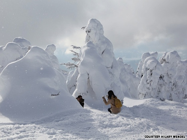 Japan's weirdest snowscape: The Monsters of Zao in Yamagata
