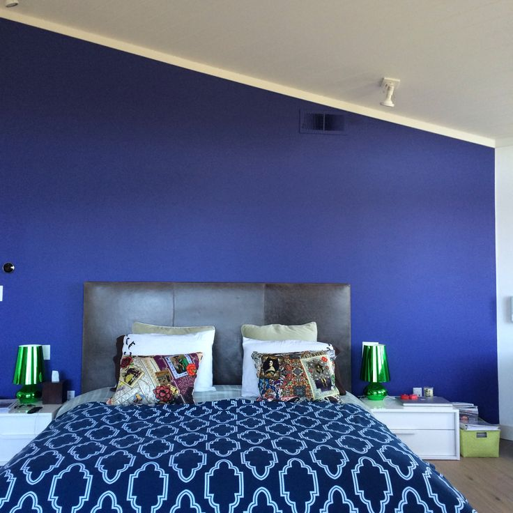 Color Splash In The Master Bedroom Benjamin Moore Bistro