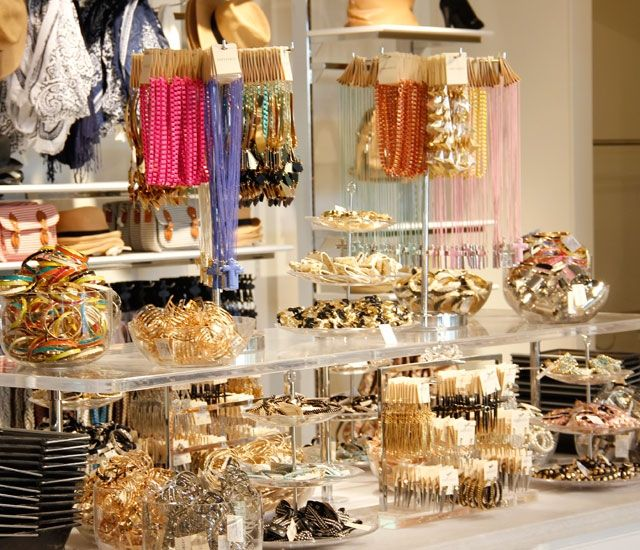 Forever 21s display of affordable jewellery at the Malad