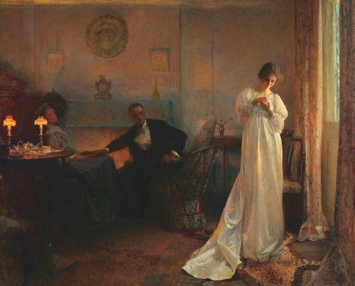 The Ring, 1898, John Henry Bacon. American (1868-1914)