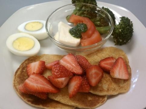 Cake Pancakes With Maple Cream Cheese Drizzle (Carrots, Whole Wheat ...