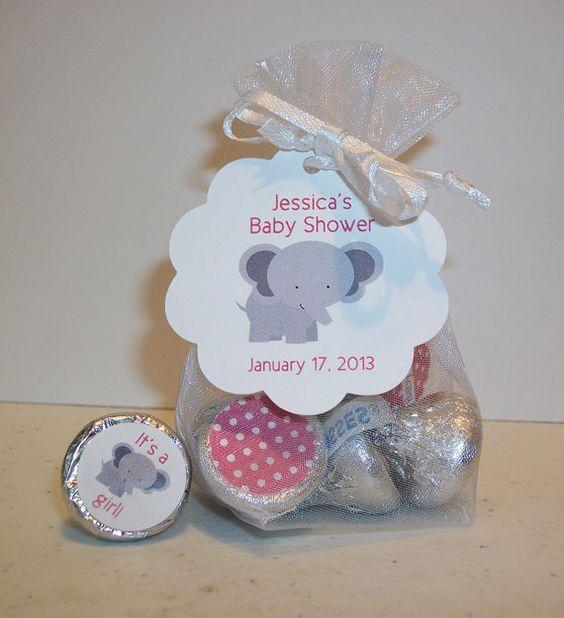 Recuerdos baby shower elefante