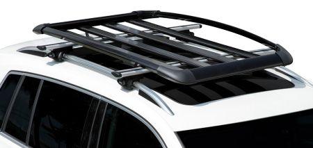 Volkswagen Tiguan 2018 camioneta SUV con canastilla de aluminio como accesorio