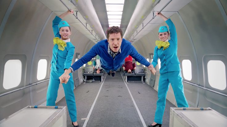 OK Go Choreographed a Zero Gravity Music Video in the Sky