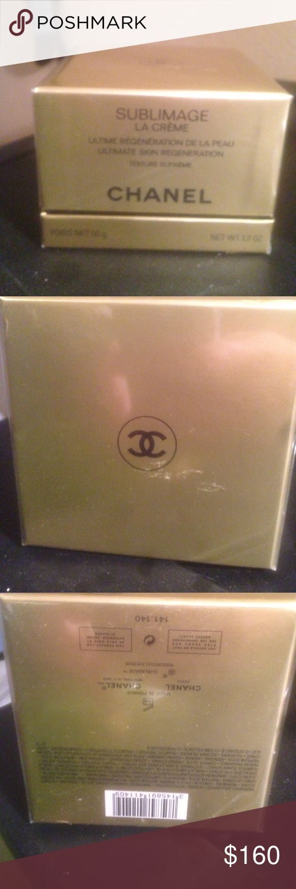 Chanel sublimage ultimate skin regeneration 1.7 oz Brand new in cellophane Chanel sublimage la Creme! Also comes with gift bag... great deal CHANEL Makeup
