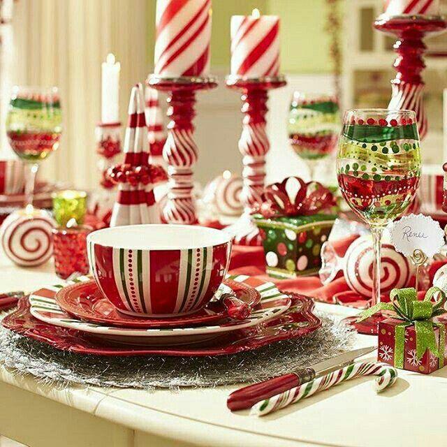Mesa de Natal  @christmasglitter