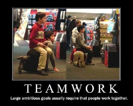 Team Work Large Ambitioug