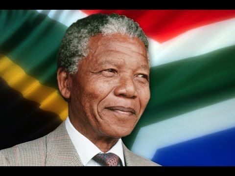 Nelson Mandela brief biography. Great for kids and esl