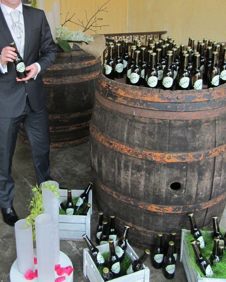 wedding beer