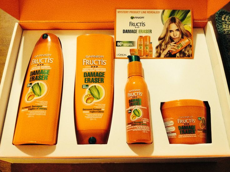 The #Mysteryvoxbox was Garnier Fructis Damage Eraser! My hair feels so soft and smooth and the protector serum has done a great job at keeping my hair split-end free from heat. #fructis #Damageraser #mysteryrevealed Garnier Canada  Compliments of Influenster for testing purposes.