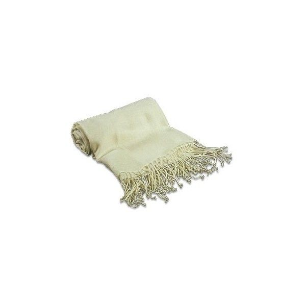 Forzieri Designer Long Scarves Pale Yellow Pashmina Shawl ($350) ❤ liked on Polyvore featuring accessories, scarves, light yellow, long scarves, oblong scarves, yellow scarves, yellow shawl and shawl scarves
