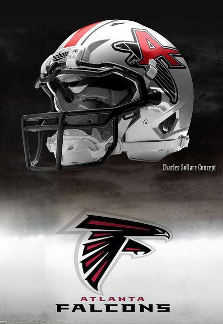 115 best images about atlanta falcons on pinterest - Dallas cowboys concept helmet ...
