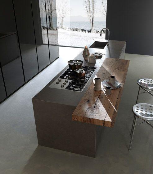 Fitted kitchens Kitchen systems Blade Modulnova Andrea - nobilia küchen katalog