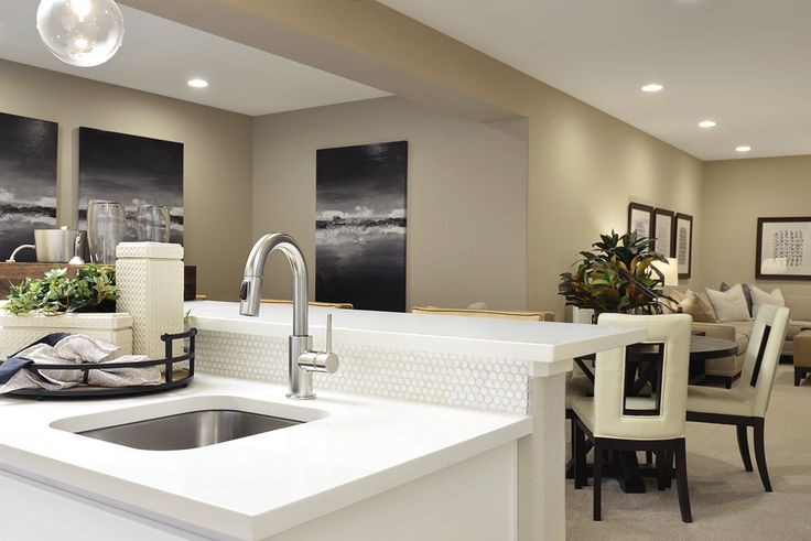 Neutral Paint And Furnishings Come Together For An Elegant Look | Yampa  Model Home | Littleton