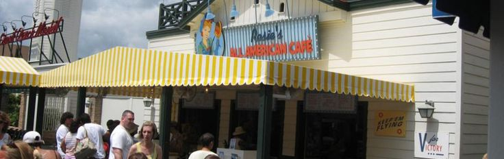 Rosies All American Cafe | Disneys Hollywood Studios - Menu