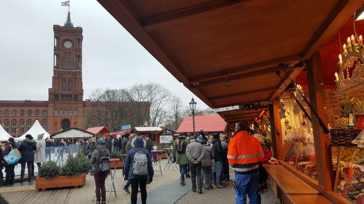 Weihnachtsmarkt am Alexanderplatz / jarmark bożonarodzeniowy na Placu Aleksandra