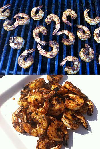 Grilled Indian Shrimp