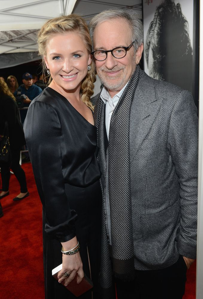 Jessica Capshaw is the stepdaughter to director Steven Spielberg.. ~ Celebrity Thanksgiving: 24 Surprising Hollywood Relatives.