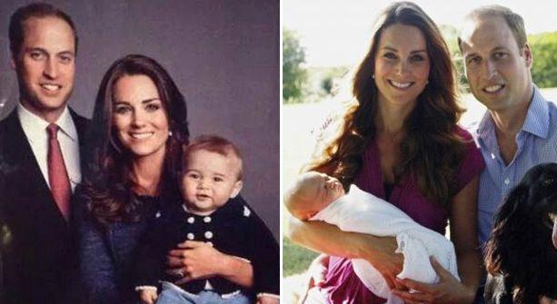 La foto oficial del Príncipe William, Kate y George que no conocías