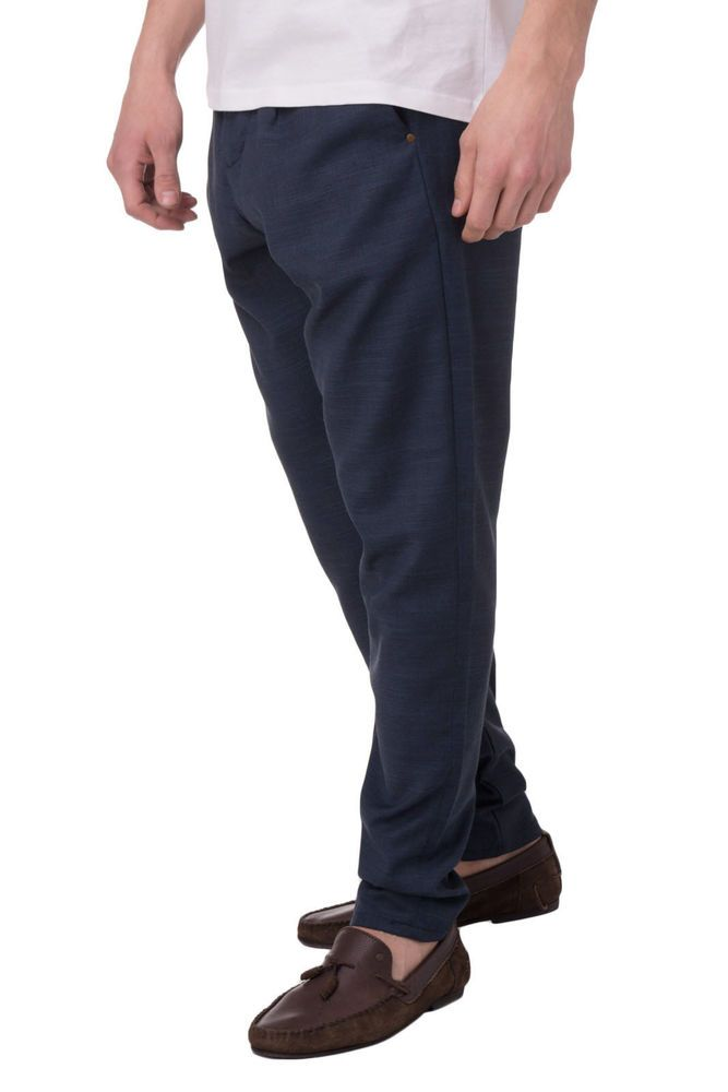 New Men Pleated Trousers LIU JO UOMO Made in Italy Size 46   S M116B301TANO  SS17 acb1d78780e