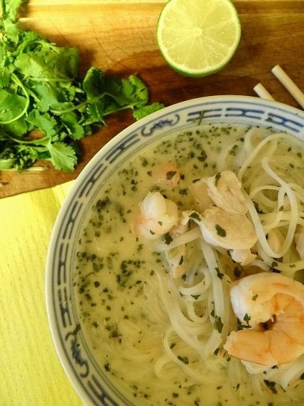 Coconut lime noodle soup recipe | Recipes | Pinterest