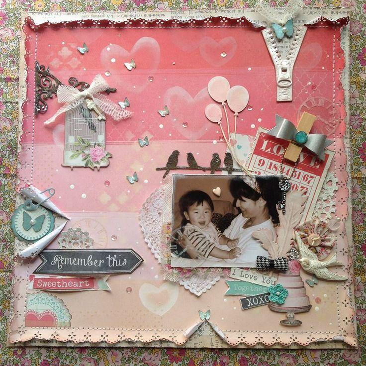 (06-003)Mieko Kawaiさんの作品。画像をクリックすると、Mieko Kawaiさんのfacebook記事を表示します。