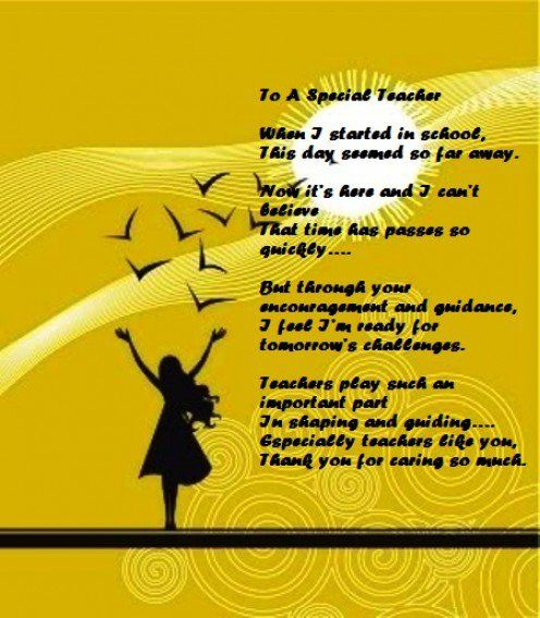 Teachers' Day Card Messages, Appreciation Quotes, Poems, Pictures ...