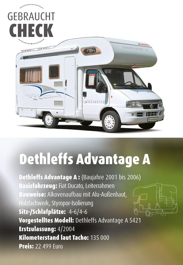 Ein #Alkovenmobil im #Gebrauchtcheck  Die #Alkovenmobile aus der Advantage-Baureihe haben entscheidend zum Image von #Dethleffs als Freund der Familie beigetragen. Sind die Modelle bis Baujahr 2006 auch heute noch ein guter Kauf?   #Camping #Camper #Wohnmobil #Alkoven #Dethleffs