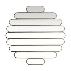 Miroir ovale multivues en fer 10x110x2cm ISODORA